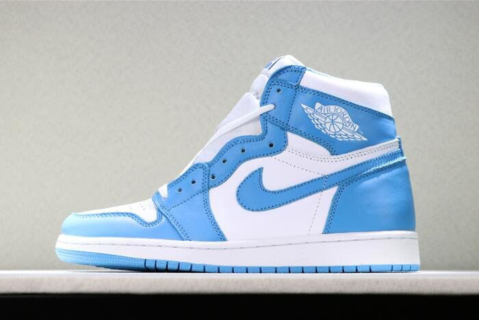 Air Jordan 1 Retro High OG UNC Dark Powder Blue/White 555088-117