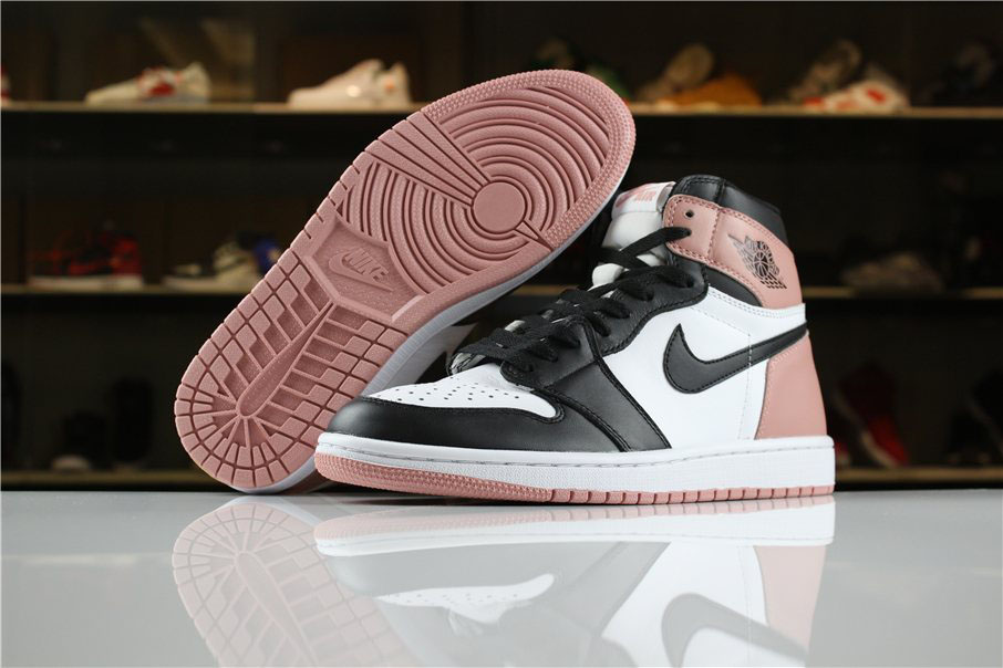 Men's Size Air Jordan 1 High OG NRG Rust Pink For Sale