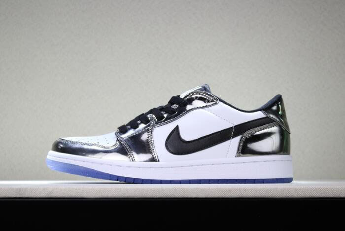 New Air Jordan 1 Low Pass The Torch Chrome/White-Turbo Green-Black For Sale