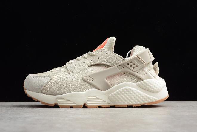 Men's and Women's Nike Air Huarache Run Textile Light Bone 818597-001