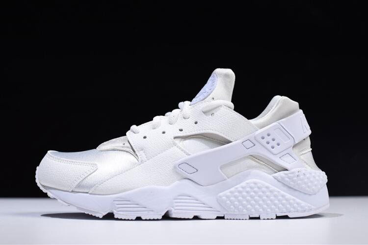 Nike Air Huarache Run Triple White Men's and Women's Size Running Shoes 634835-108