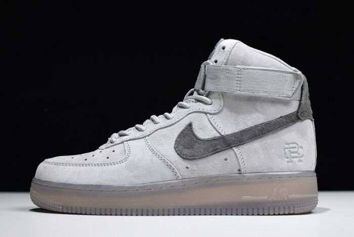 Reigning Champ x Nike Air Force 1 High '07 Grey/Black 882098-100
