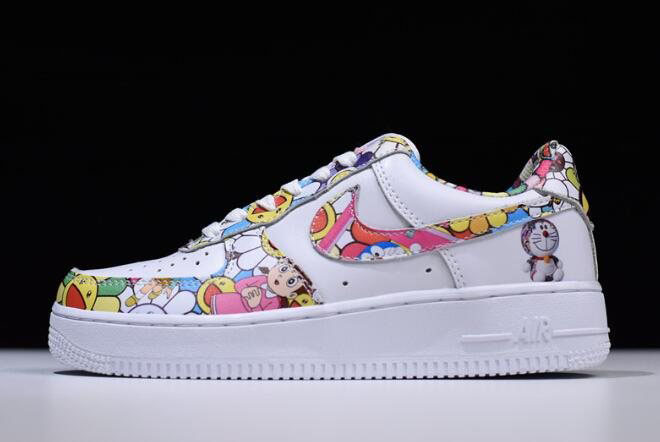 Women's Takashi Murakami x Nike Air Force 1 Low Doraemon 314219-031