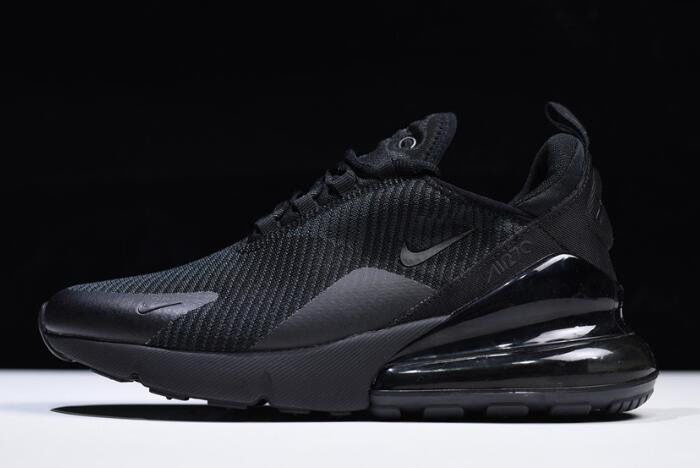 Nike Air Max 270 Black/Dark Grey Men's and Women's Size AH6789-006