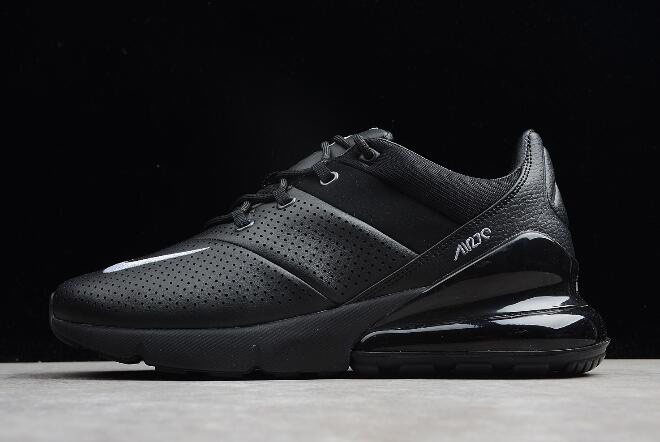 Nike Air Max 270 Premium Black Leather AO8283-010