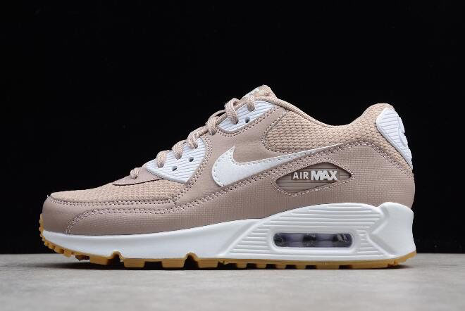 Women's Nike Air Max 90 Essential Diffused Taupe/White-Gum 325213-210