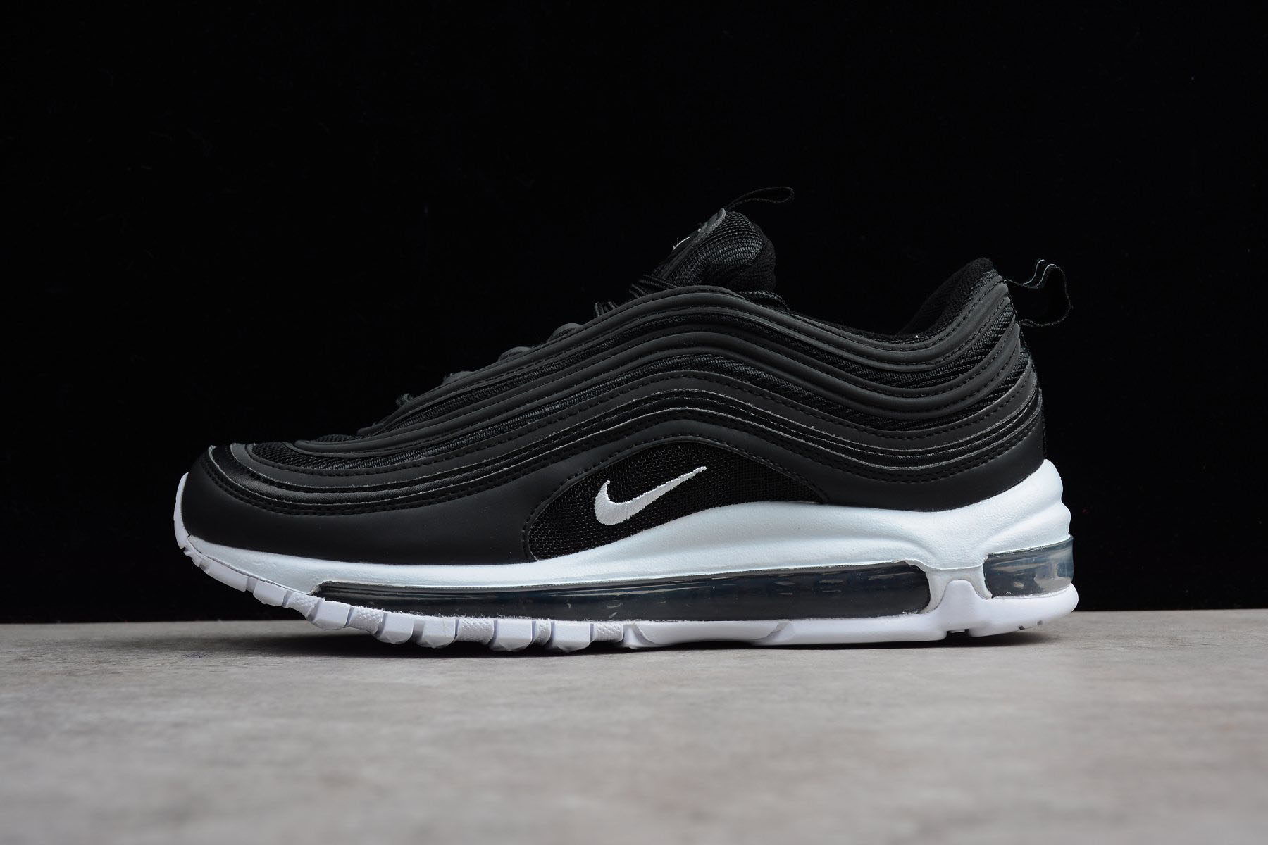 Men's Nike Air Max 97 OG Black/White 921826-001 For Sale