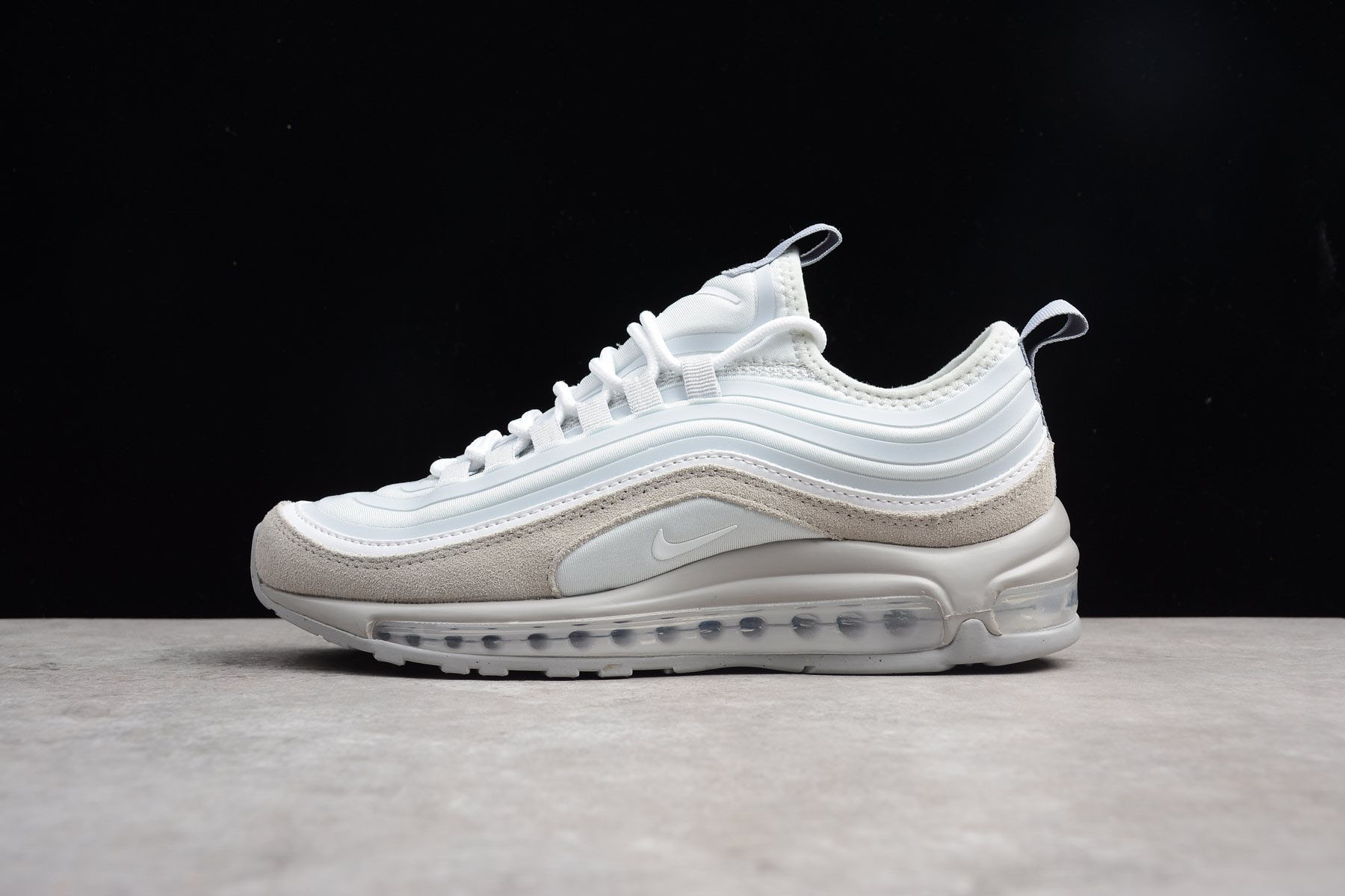 Men's Size Nike Air Max 97 Ultra SE Pure Platinum White Wolf Grey 924452-002