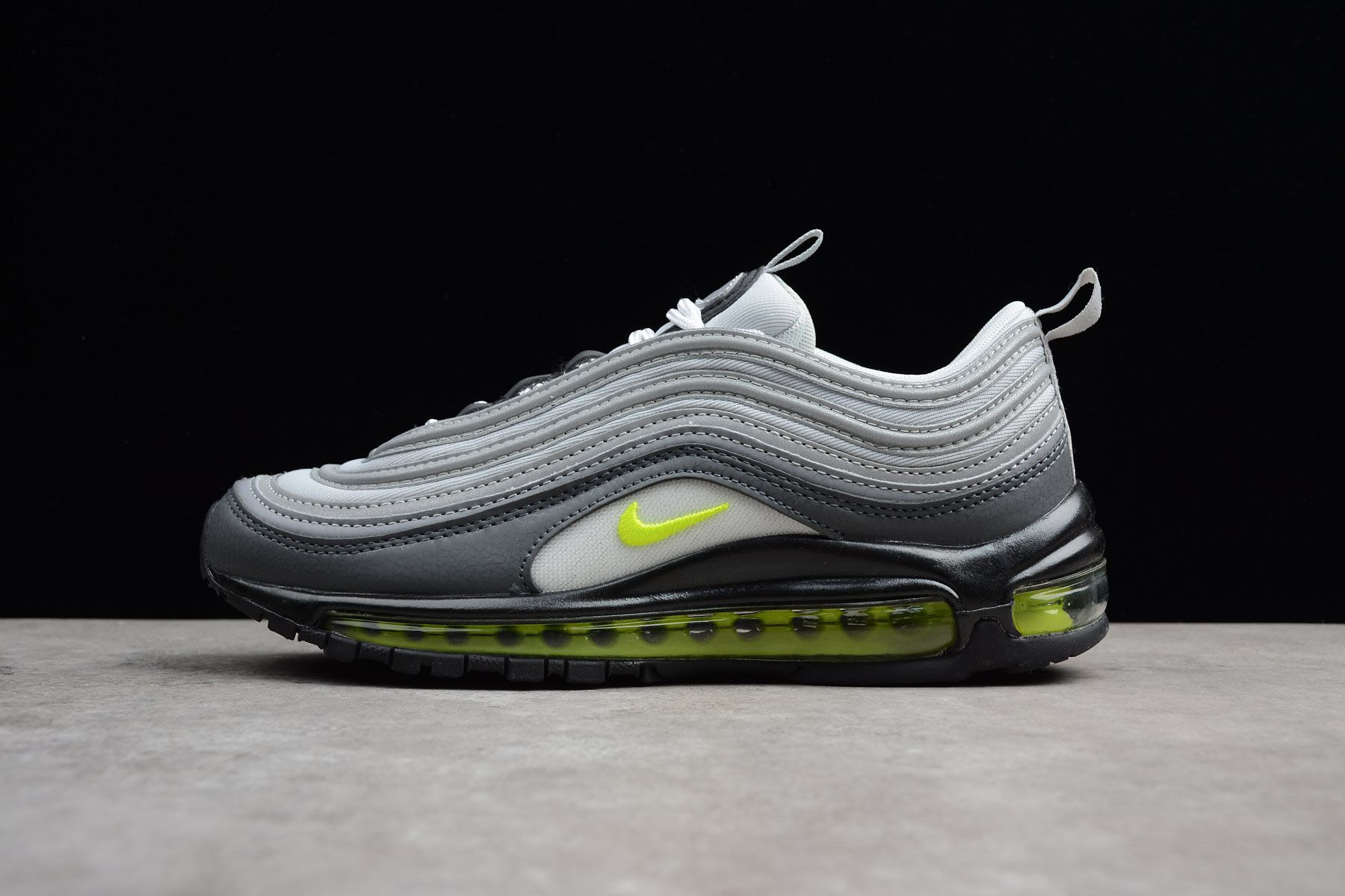 Nike Air Max 97 Neon Dark Grey/Volt-Stealth-Pure Platinum 921733-003