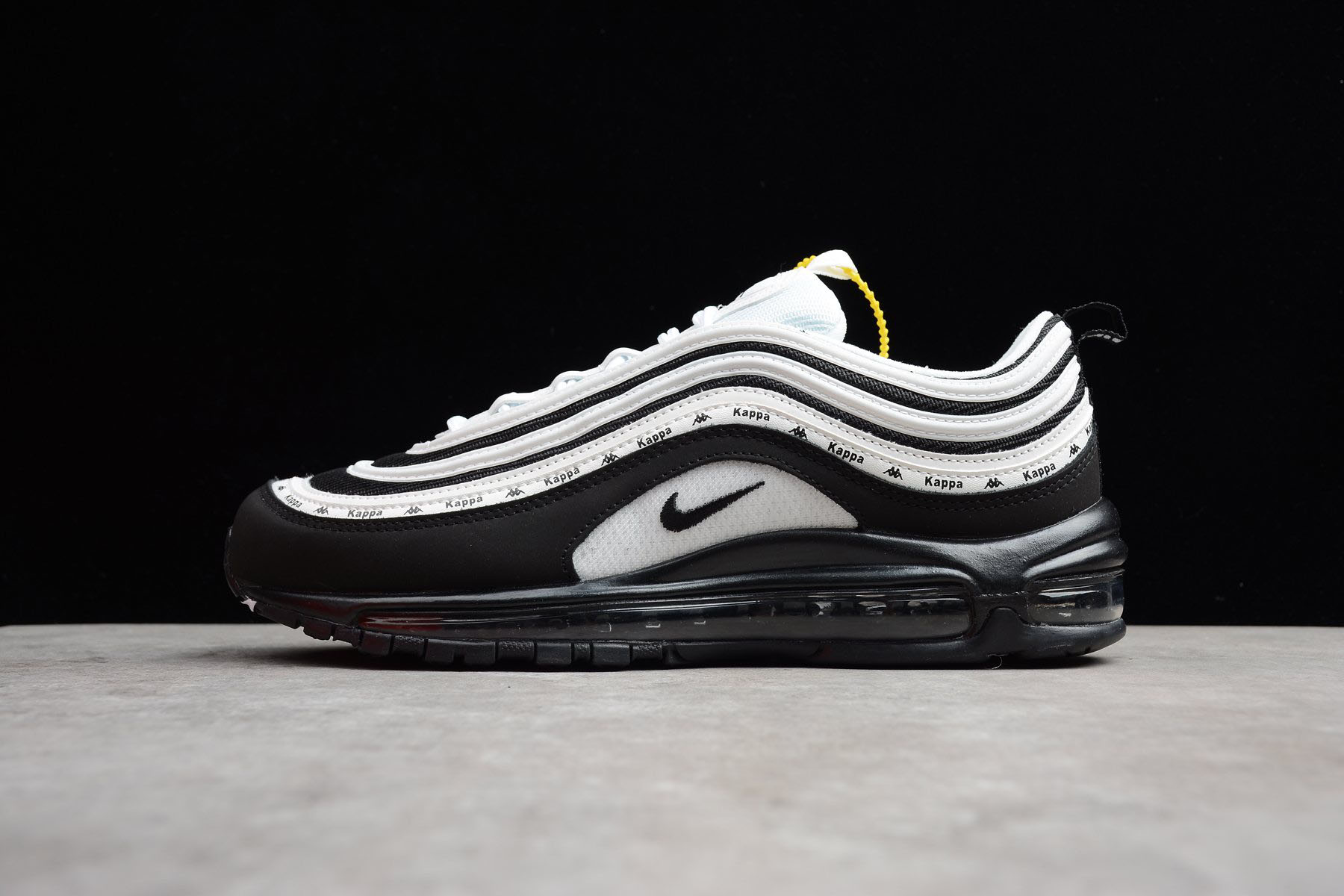 Nike Air Max 97 OG Kappa Black White Men's and Women's Size Shoes