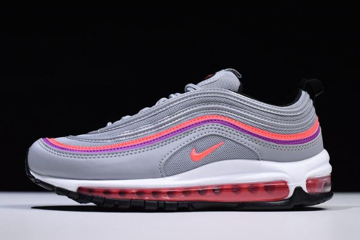 Nike Air Max 97 OG Wolf Grey Solar Red Vivid Purple 921733-009