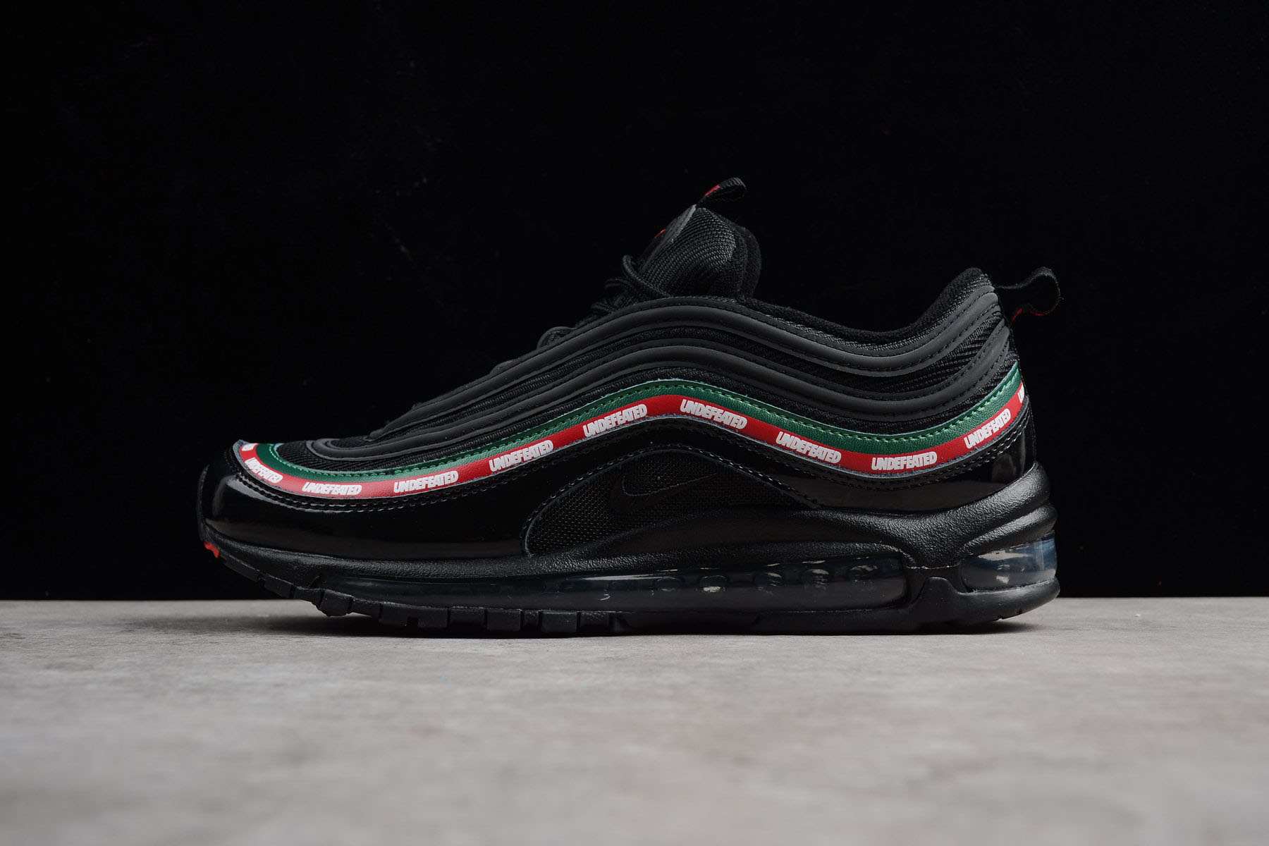 Undefeated x Nike Air Max 97 OG Black AJ1986-001 Men's and Women's Size