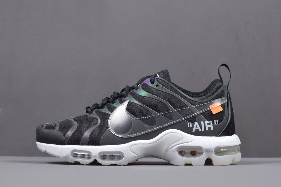Off-White x Nike Air Max Plus TN Ultra Iridescent Men's Size AA3827-001