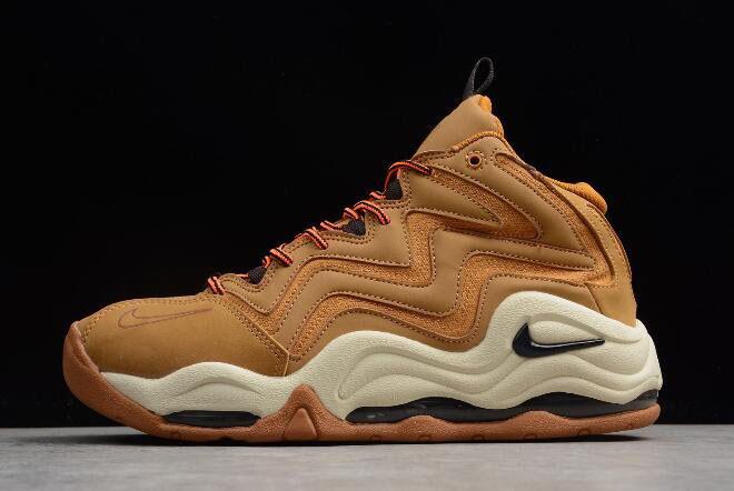 the best attitude ebbde daac0 Nike Air Pippen 1 Wheat Desert Ochre Velvet Brown-Fossil-Total Orange 325001