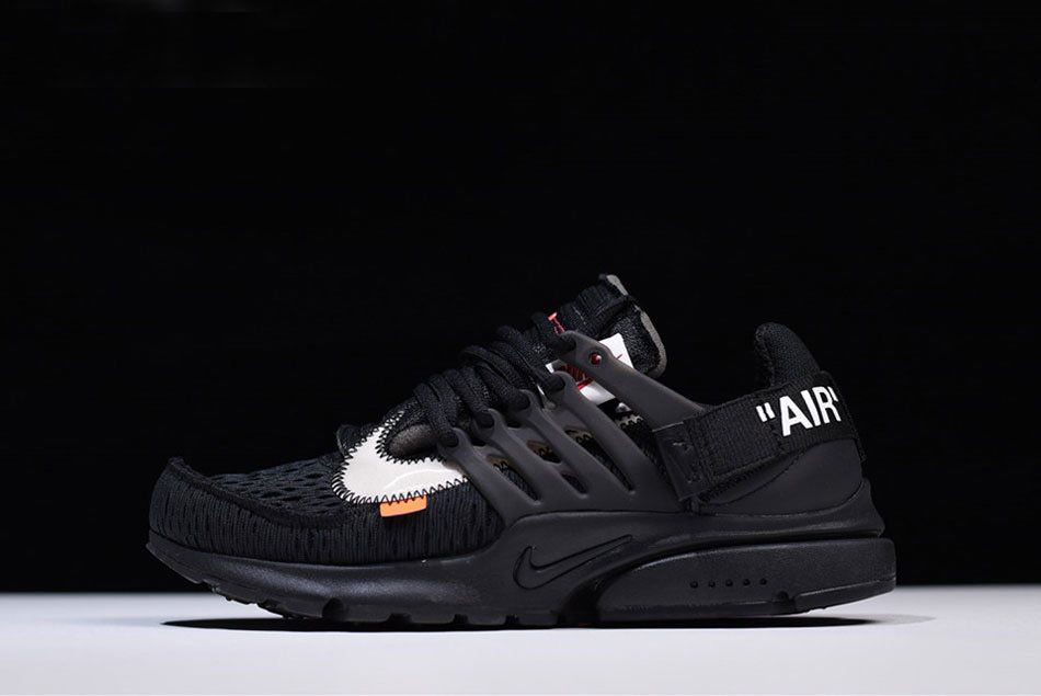 2018 Off-White x Nike Air Presto Black/White-Cone AA3830-002 Free Shipping