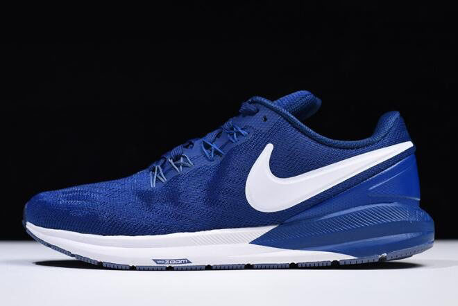 Nike Air Zoom Structure 22 Gym Blue/White AA1638-404 For Sale