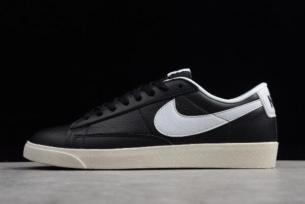 Nike Blazer Low Premium Black/Sail/White 454471-004
