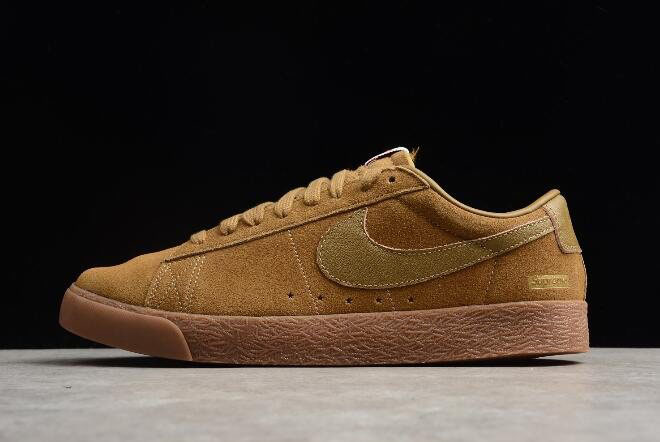 Supreme x Nike SB Blazer Low GT QS Golden Beige/Gum 716890-229 For Sale