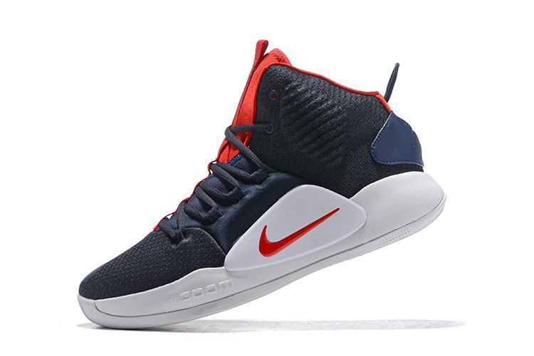 wholesale dealer 0b30a 47210 2018 Nike Hyperdunk X USA Navy Blue Red-White AO7893-400