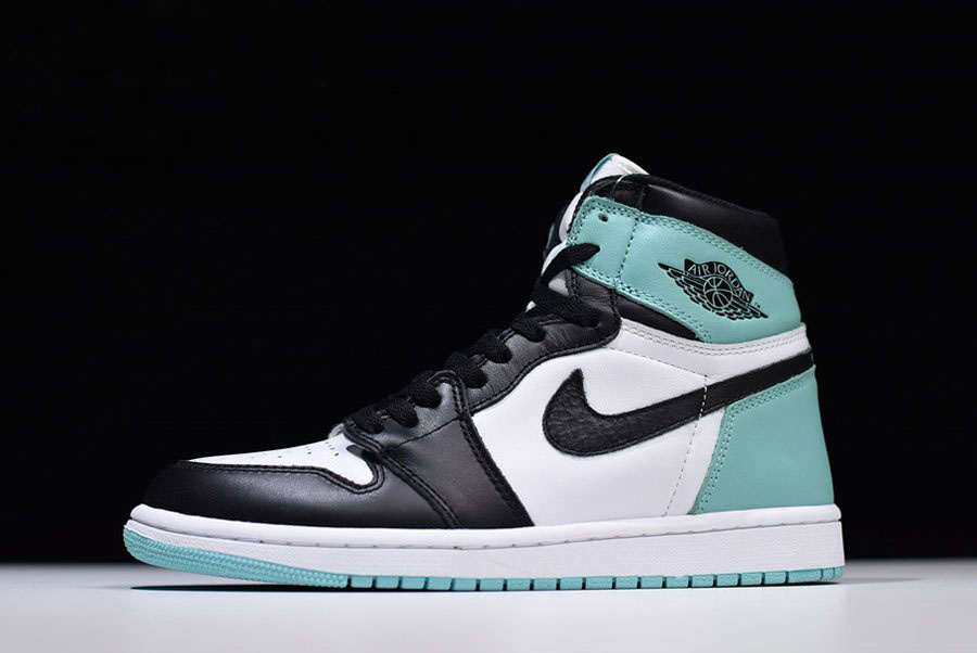 Men's Air Jordan 1 Retro High OG NRG White/Igloo-Black 861428-100