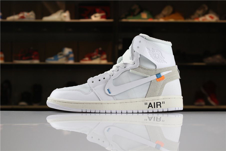 Off-White x Air Jordan 1 High NRG White AQ0818-100 For Sale