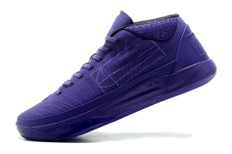Nike Kobe A.D. Mid Fearless Purple Basketball Shoes 922482-700