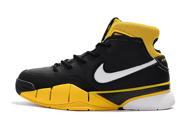 Men's Nike Zoom Kobe 1 Protro Black/White-Varsity Maize AQ2728-003