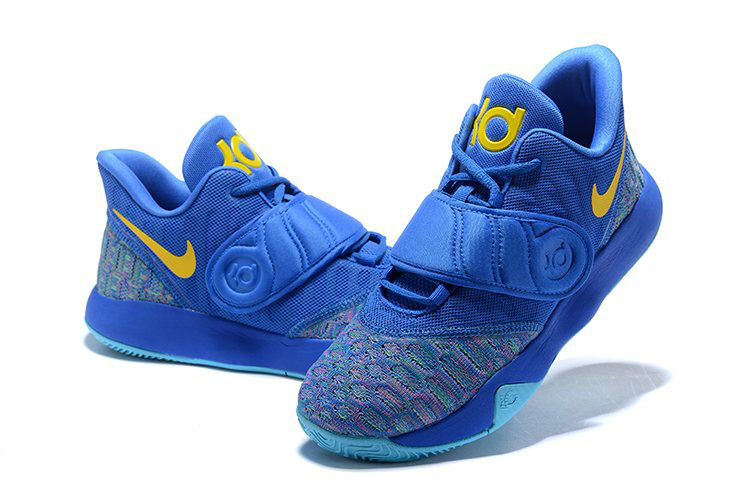 Nike KD Trey 5 VI Signal Blue/Yellow Men's Basketball Shoes