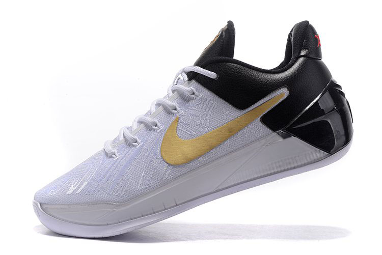 Nike Kobe A.D. BHM White/Black-Metallic Gold Free Shipping
