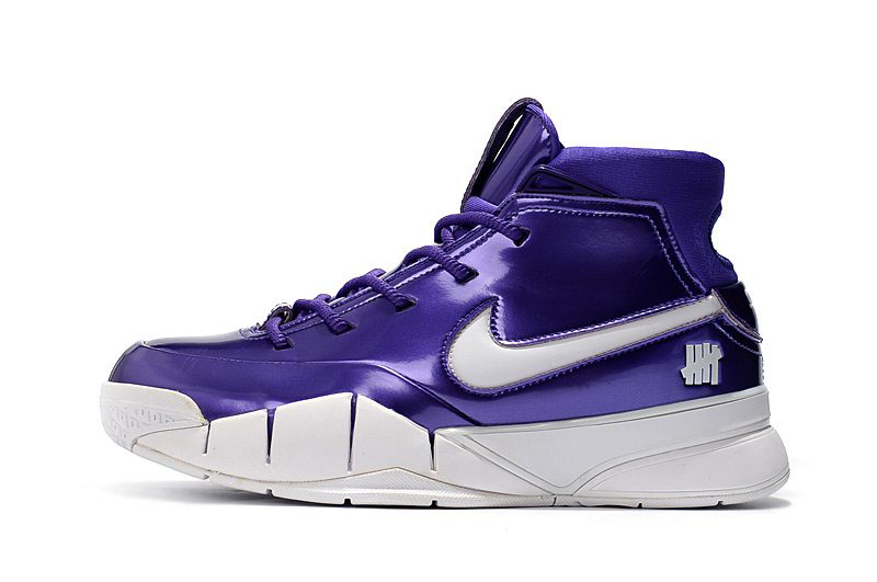 Nike Zoom Kobe 1 Protro Purple Patent Leather For Sale