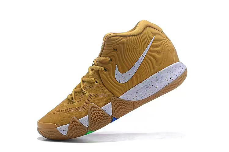 Nike Kyrie 4 Cinnamon Toast Crunch Metallic Gold Coin/White BV0426-900