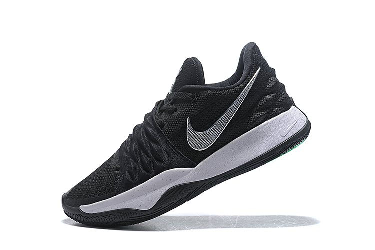 Nike Kyrie 4 Low Black/Metallic Silver-White AO8979-003 For Sale