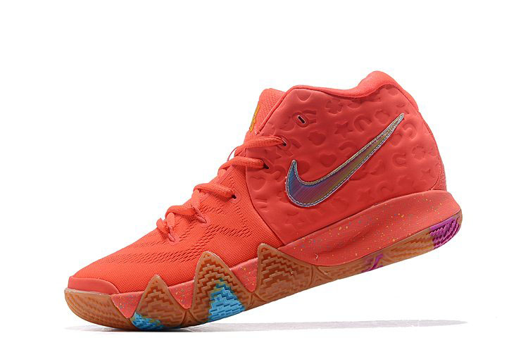 Nike Kyrie 4 Lucky Charms Bright Crimson/Multi-Color BV0428-600