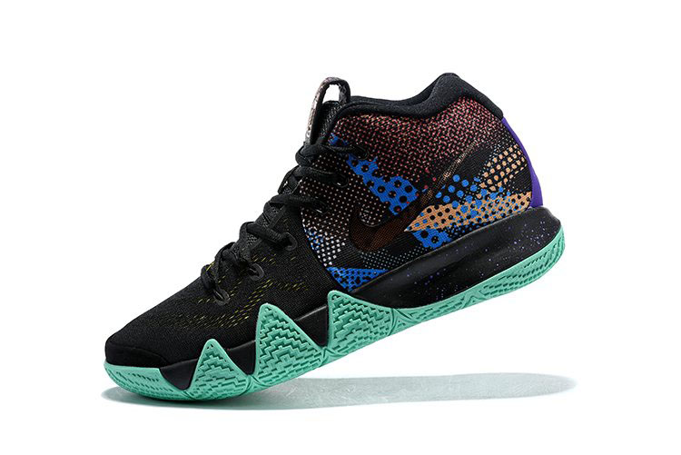 83ba13081cd2 2018 Nike Kyrie 4 Mamba Mentality Black Sonic Yellow-Purple Venom AV2597-001