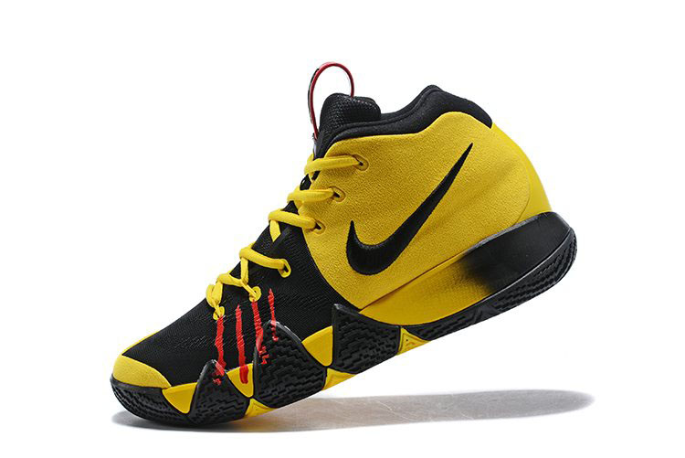 Nike Kyrie 4 Mamba Mentality Bruce Lee Tour Yellow/Black For Sale