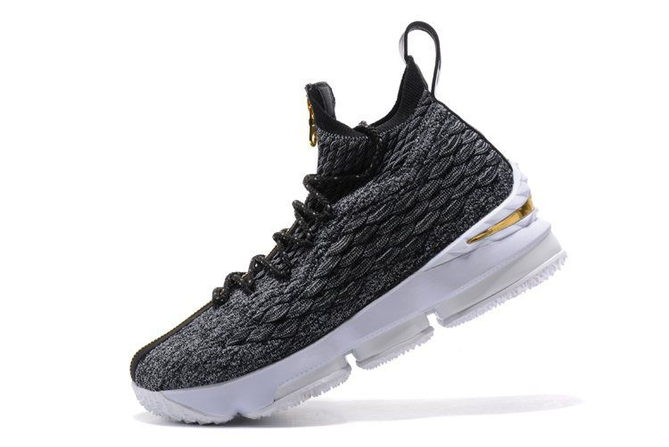 KITH x Nike LeBron 15 SVSM Dark Green/Gold-White Men's Basketball Shoes