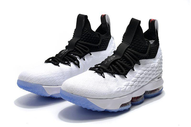 official photos 8edc0 0a114 Men's Nike LeBron 15 Graffiti White/Black-University Red AQ2363-100 ...