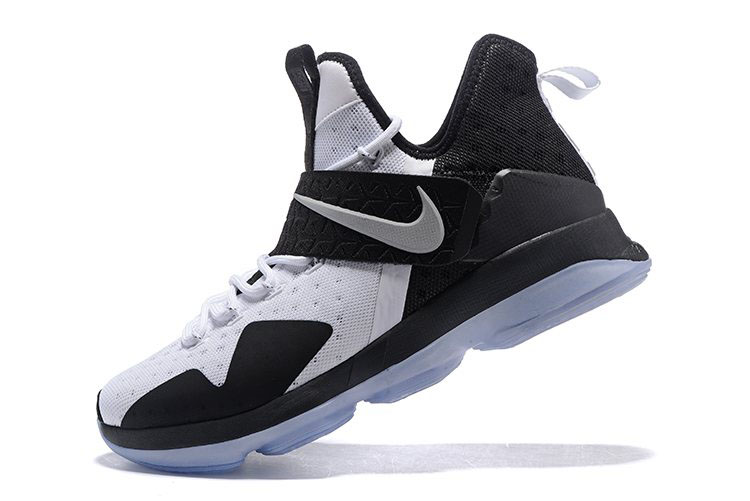 Nike LeBron 14 White/Black Men's Basketball Shoes For Sale