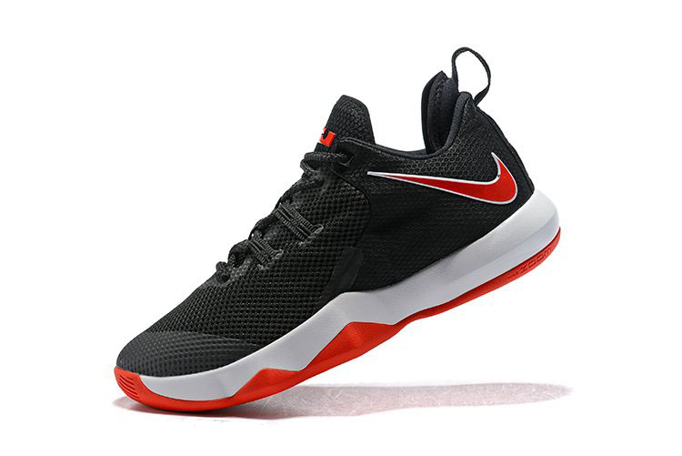 Nike LeBron Ambassador 10 Black/White-University Red LeBron James Basketball Shoes