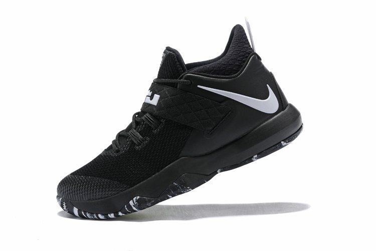 Nike LeBron Ambassador 10 Black White AH7580-001 For Sale
