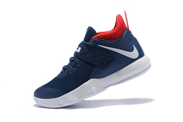 Nike LeBron Ambassador 10 USA Navy White Red Free Shipping