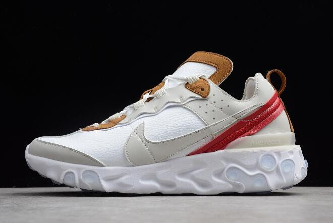 Nike React Element 87 Sail/Light Bone-White AQ1090-101