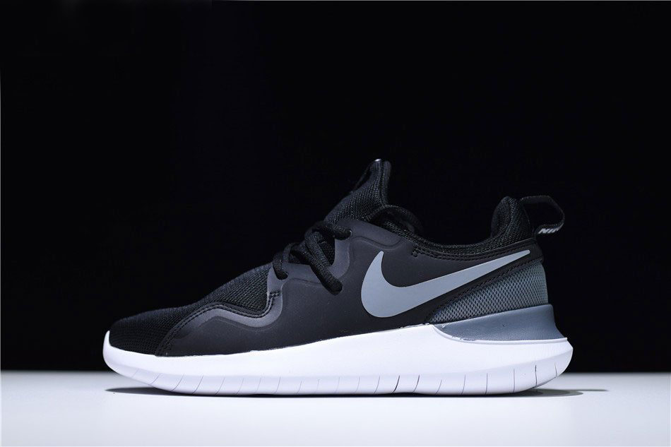 Nike Tessen Black Grey White Men's Running Shoes AA2160-001