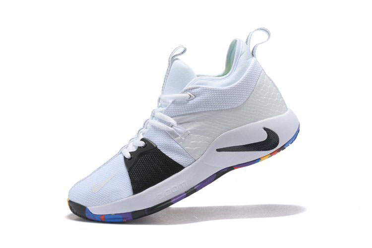 Paul George's Nike PG 2 NCAA March Madness White/Multi-Color AJ5163-100