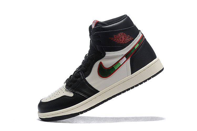 "Air Jordan 1 Retro High OG ""Sports Illustrated"" Black/Varsity Red-University Blue 555088-015"