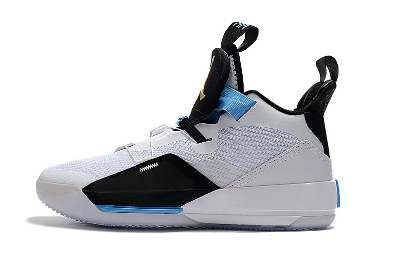 "Air Jordan 33 ""Mike Conley PE"" White/Black-Blue"