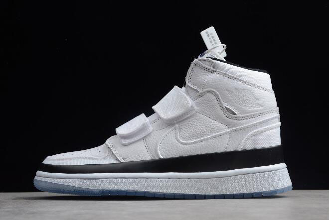 "Air Jordan 1 High Double Strap ""Concord"" White/Black/Dark Concord AQ7924-107"