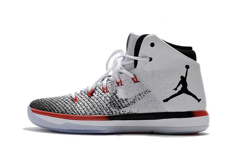 "Air Jordan 31 XXX1 ""Black Toe"" White/Black-Max Orange 845037-108"