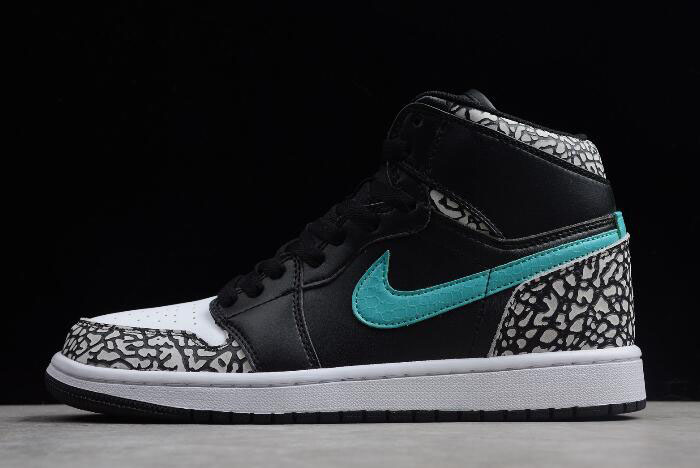 "The Shoe Surgeon Air Jordan 1 High ""atmos"" Elephant Print 838850-013"