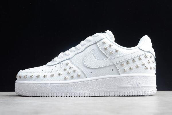 "Womens Nike Air Force 1 Low ""Star-Studded"" White AR0639-100"